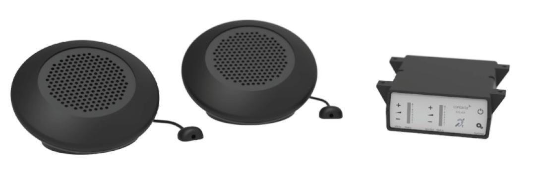 Dual Speaker Pod Intercom System